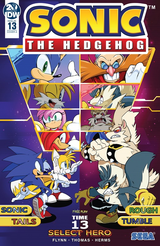 Knuckles the echidna sonic team tails battle angel
