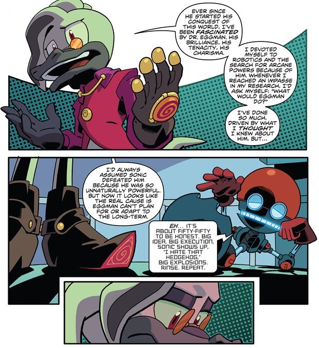 Super Comics Sonic The Hedgehog Idw 18 The Reviewers Unite