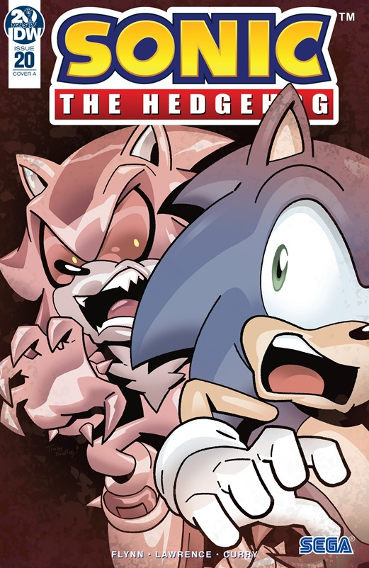Super Comics Sonic The Hedgehog Idw 20 The Reviewers Unite