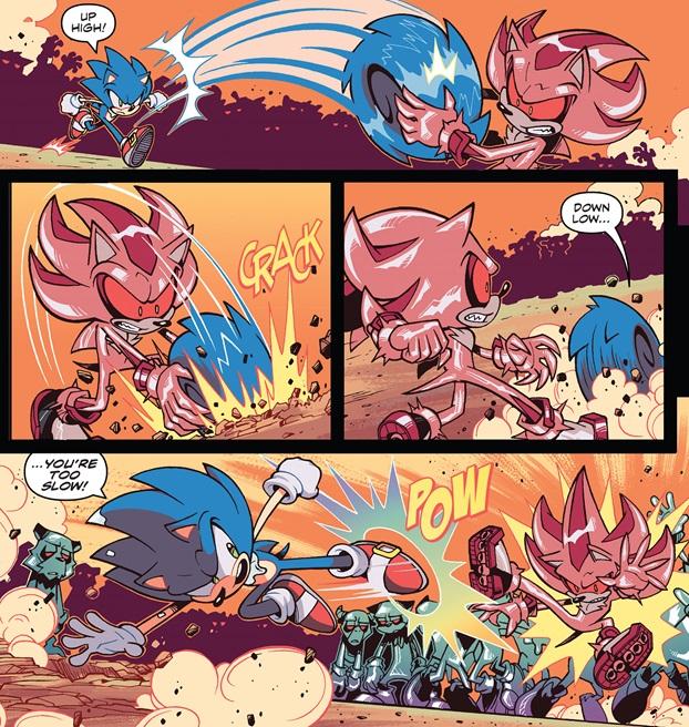 Super Comics Sonic The Hedgehog Idw 20 The Reviewers Unite