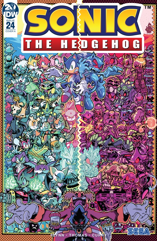 Super Comics Sonic The Hedgehog Idw 24 The Reviewers Unite